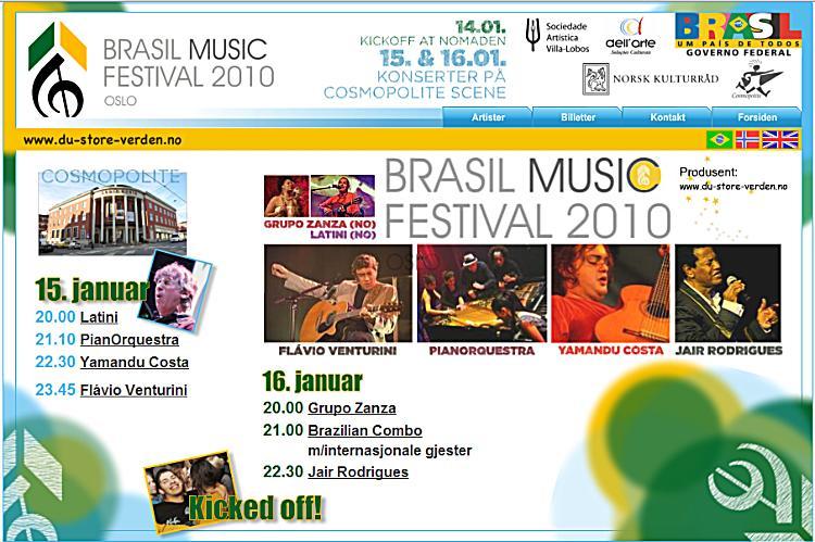 Brasil Music Festival 2010